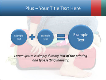 Suitcase crammed PowerPoint Template - Slide 75