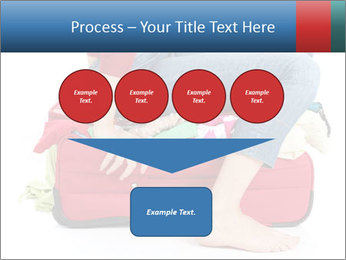 Suitcase crammed PowerPoint Template - Slide 93