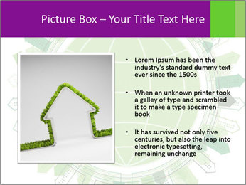 Abstract green city PowerPoint Template - Slide 13