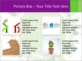 Abstract green city PowerPoint Template - Slide 14