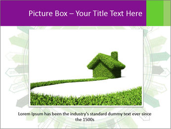 Abstract green city PowerPoint Template - Slide 15