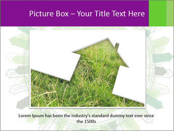 Abstract green city PowerPoint Template - Slide 16