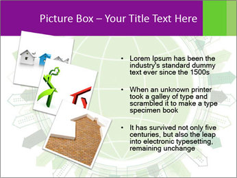 Abstract green city PowerPoint Template - Slide 17