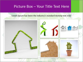 Abstract green city PowerPoint Template - Slide 19