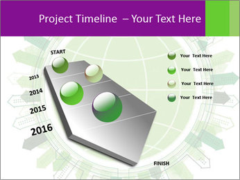 Abstract green city PowerPoint Template - Slide 26