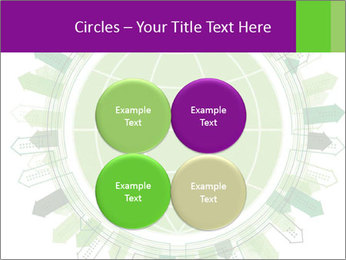 Abstract green city PowerPoint Template - Slide 38