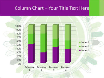 Abstract green city PowerPoint Template - Slide 50