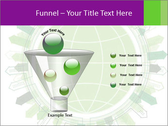 Abstract green city PowerPoint Template - Slide 63