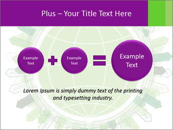 Abstract green city PowerPoint Template - Slide 75