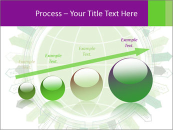 Abstract green city PowerPoint Template - Slide 87