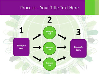 Abstract green city PowerPoint Template - Slide 92