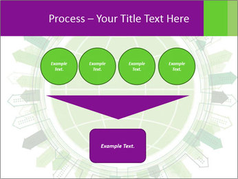 Abstract green city PowerPoint Template - Slide 93