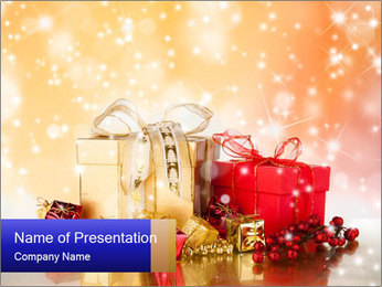Celebration PowerPoint Templates - Slide 1