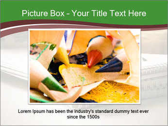 Colored pencils PowerPoint Templates - Slide 16