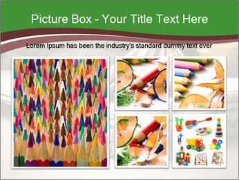 Colored pencils PowerPoint Templates - Slide 19