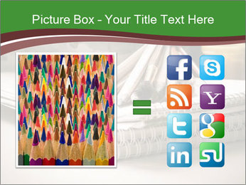 Colored pencils PowerPoint Templates - Slide 21