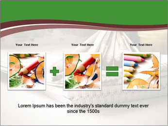 Colored pencils PowerPoint Templates - Slide 22