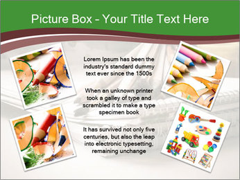 Colored pencils PowerPoint Templates - Slide 24