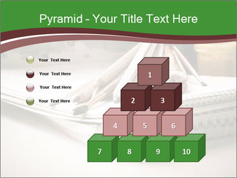Colored pencils PowerPoint Templates - Slide 31