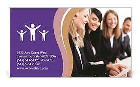 0000087312 Business Card Template