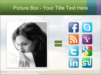 Cloudy sky PowerPoint Template - Slide 21