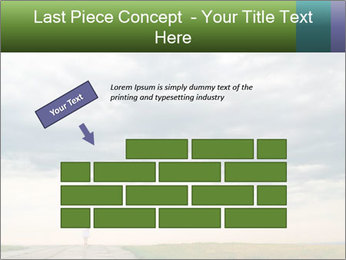 Cloudy sky PowerPoint Template - Slide 46