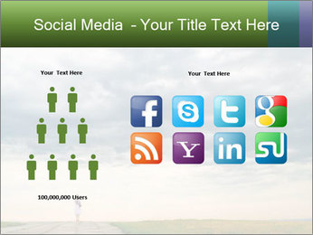 Cloudy sky PowerPoint Template - Slide 5