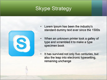 Cloudy sky PowerPoint Template - Slide 8
