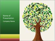 Eco tree PowerPoint Template