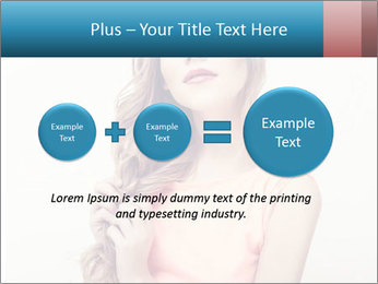 Sensuality beautiful blond PowerPoint Template - Slide 75