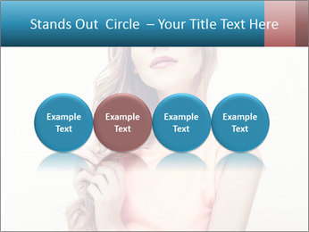 Sensuality beautiful blond PowerPoint Template - Slide 76