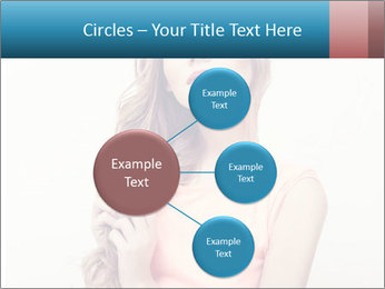 Sensuality beautiful blond PowerPoint Template - Slide 79
