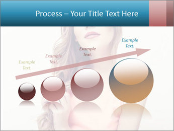 Sensuality beautiful blond PowerPoint Template - Slide 87