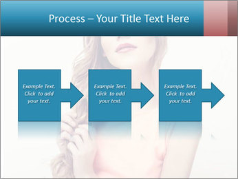 Sensuality beautiful blond PowerPoint Template - Slide 88