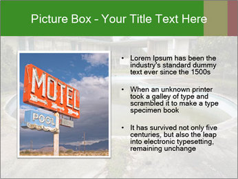 Motel pool. PowerPoint Templates - Slide 13