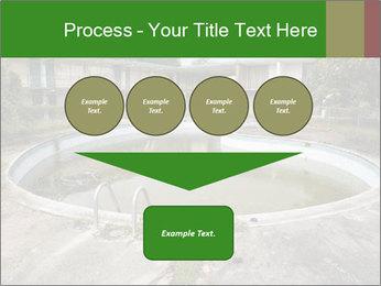 Motel pool. PowerPoint Templates - Slide 93
