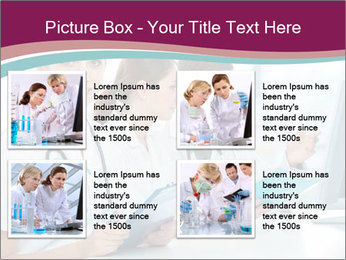 Group of medical students PowerPoint Template - Slide 14