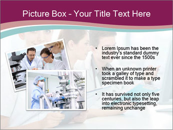 Group of medical students PowerPoint Template - Slide 20