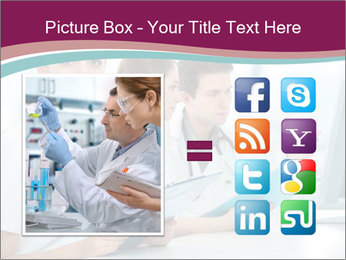 Group of medical students PowerPoint Template - Slide 21