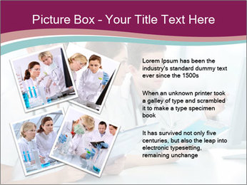 Group of medical students PowerPoint Template - Slide 23