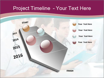 Group of medical students PowerPoint Template - Slide 26