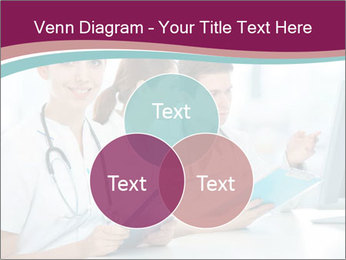 Group of medical students PowerPoint Template - Slide 33