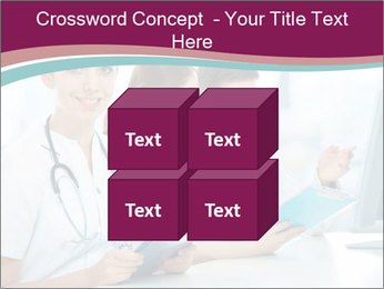 Group of medical students PowerPoint Template - Slide 39
