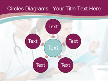 Group of medical students PowerPoint Template - Slide 78
