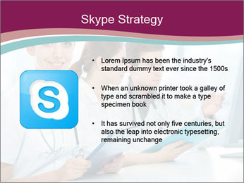 Group of medical students PowerPoint Template - Slide 8