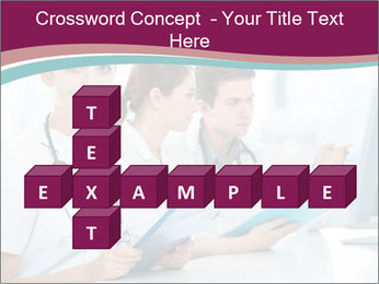Group of medical students PowerPoint Template - Slide 82