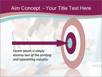 Group of medical students PowerPoint Template - Slide 83