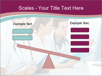 Group of medical students PowerPoint Template - Slide 89