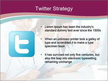 Group of medical students PowerPoint Template - Slide 9