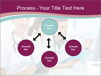 Group of medical students PowerPoint Template - Slide 91